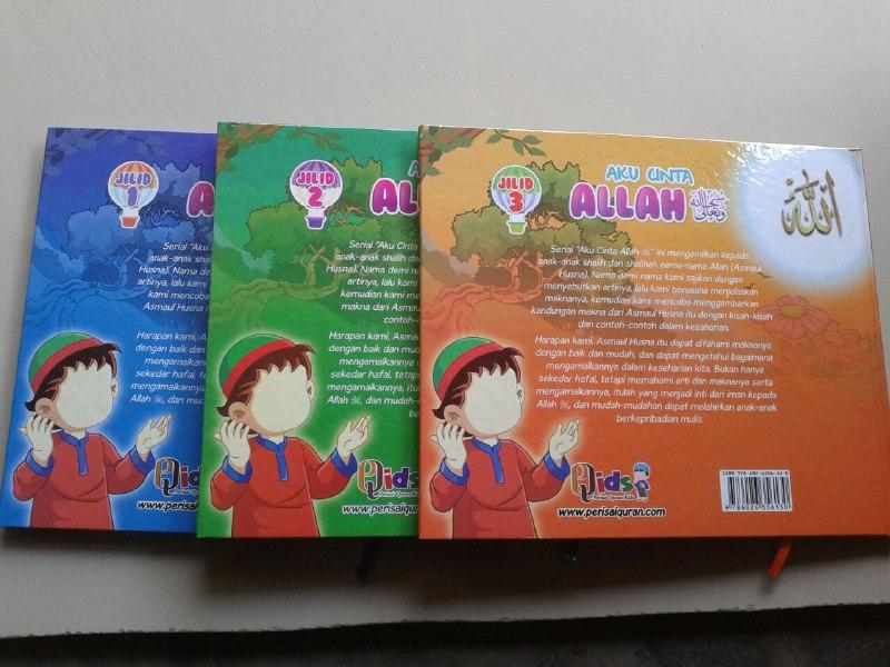 Buku Anak Aku Cinta Allah Memahami Asmaul Husna Cerita Inspiratif cover 4