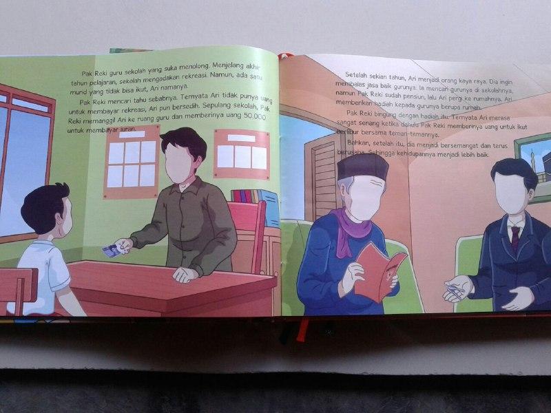 Buku Anak Aku Cinta Allah Memahami Asmaul Husna Cerita Inspiratif isi 2