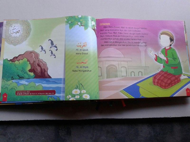 Buku Anak Aku Cinta Allah Memahami Asmaul Husna Cerita Inspiratif isi
