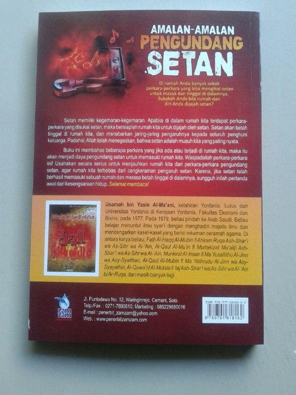 Buku Amalan Amalan Pengundang Setan cover 2