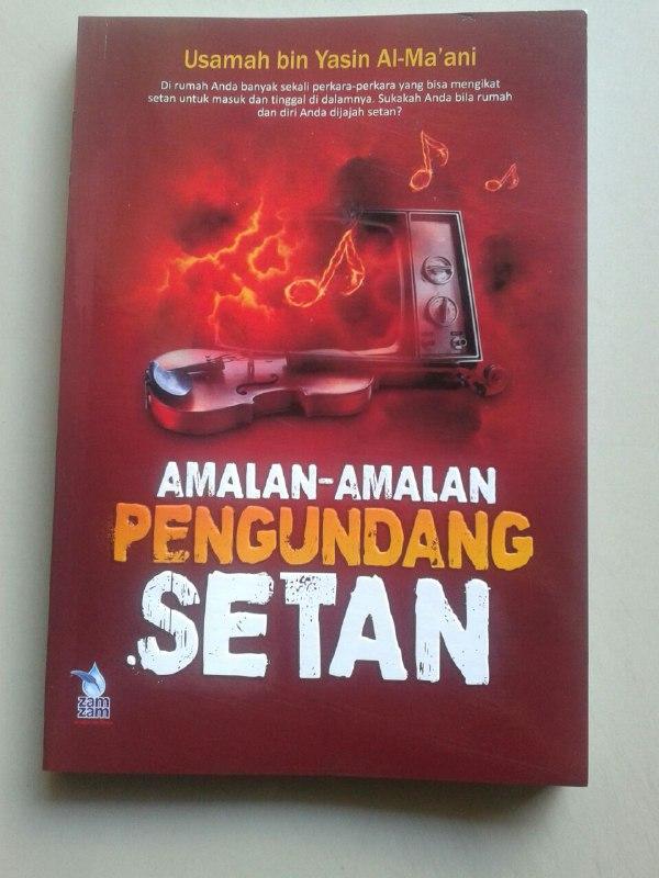Buku Amalan Amalan Pengundang Setan cover