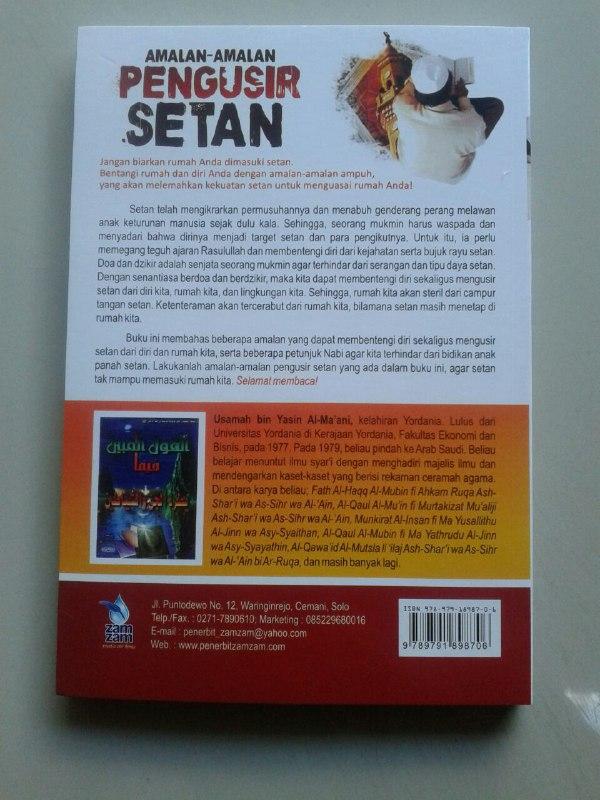 Buku Amalan Amalan Pengusir Setan cover 2