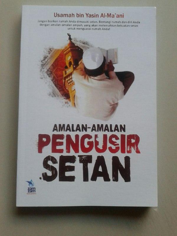 Buku Amalan Amalan Pengusir Setan cover