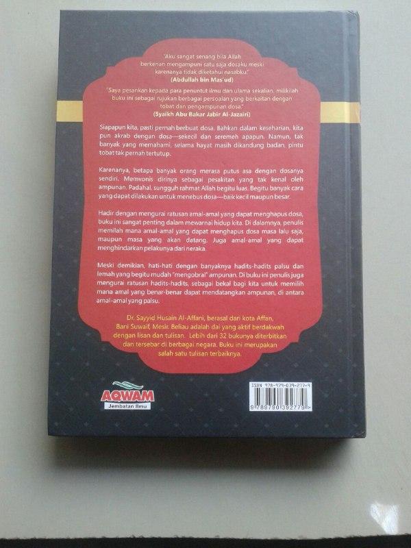 Buku Amalan Penghapus Dosa Dilengkapi Lebih Dari 300 Uraian Hadits cover 2