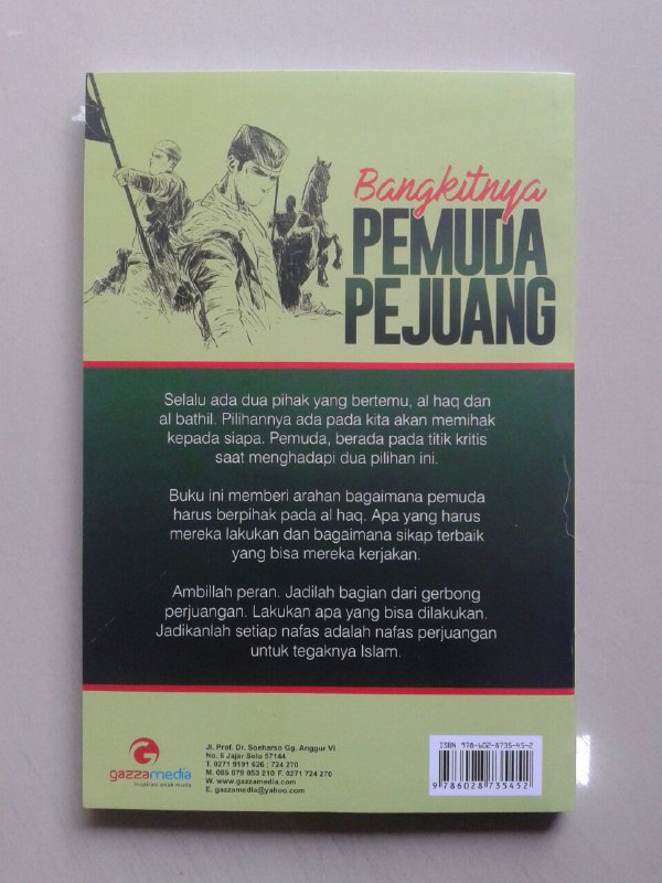 Buku Bangkitnya Pemuda Pejuang cover 2