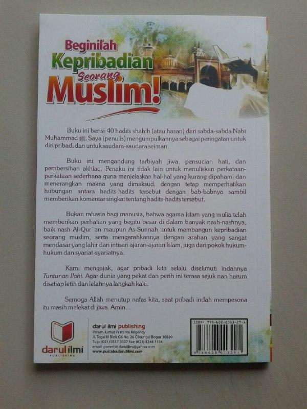 Buku Beginilah Kepribadian Seorang Muslim cover 2