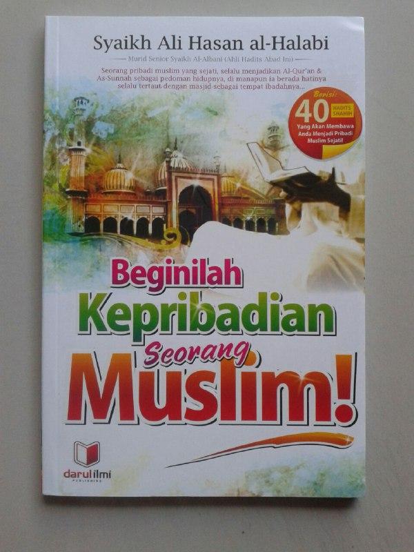 Buku Beginilah Kepribadian Seorang Muslim cover
