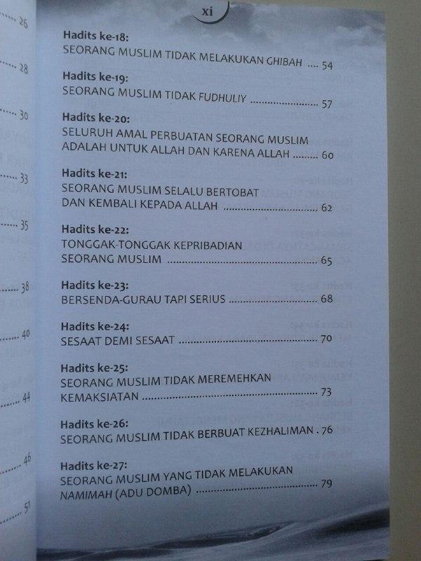 Buku Beginilah Kepribadian Seorang Muslim isi 2