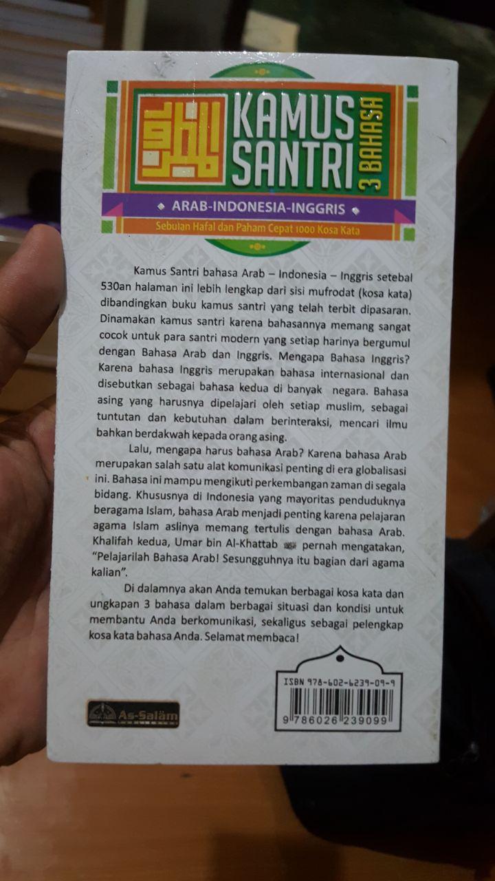 Buku Kamus Santri 3 Bahasa Cover 2