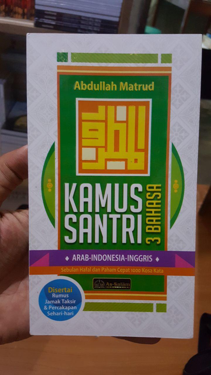 Buku Kamus Santri 3 Bahasa Cover