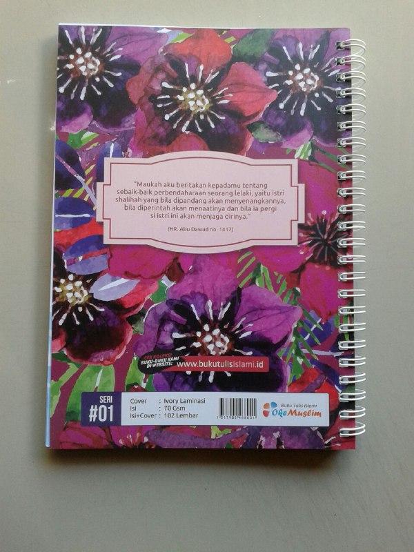 Buku Tulis Islami Spiral Cover Jadilah Wanita Shalihah cover 2