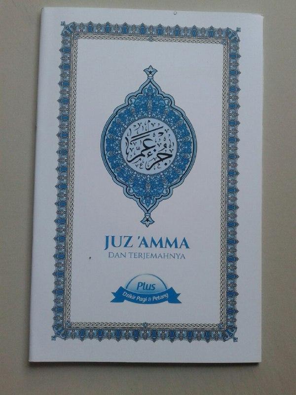 Buku Juz 'Amma Dan Terjemahnya Plus Dzikir Pagi & Petang cover