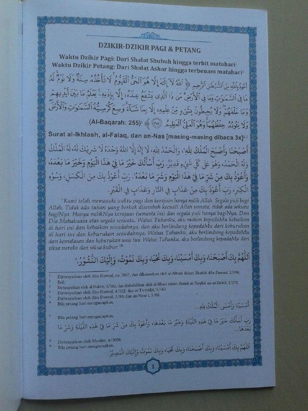 Buku Juz 'Amma Dan Terjemahnya Plus Dzikir Pagi & Petang isi 2