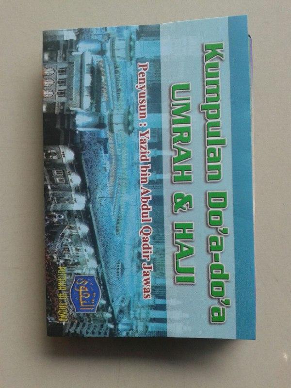 Buku Saku Kumpulan Do'a Do'a Umrah & Haji (Lipat) cover