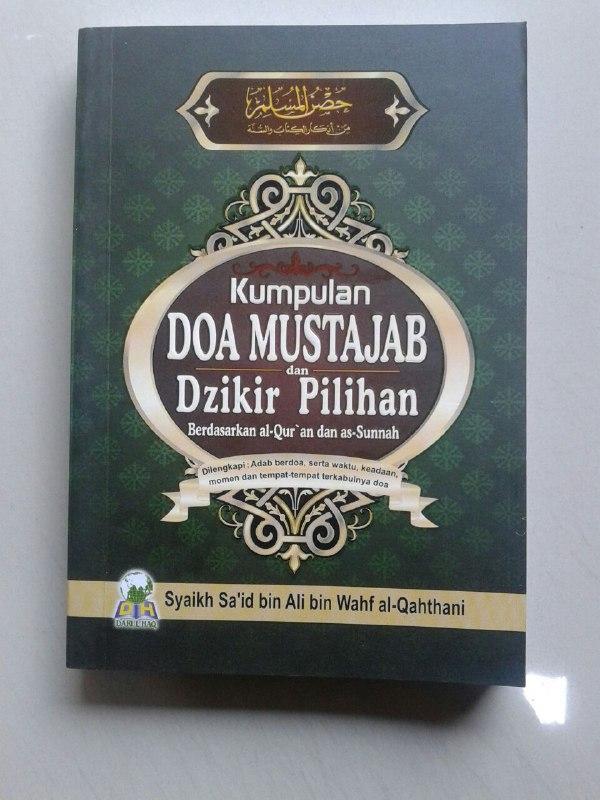 Buku Saku Hisnul Muslim Kumpulan Doa Mustajab & Dzikir Pilihan cover