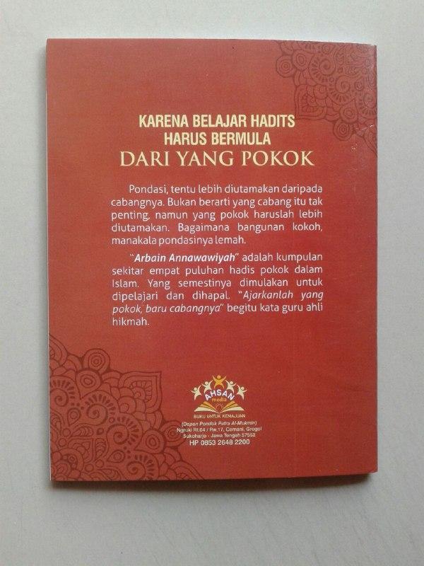 Buku Saku Matan Arbain Annawawiyah cover 2