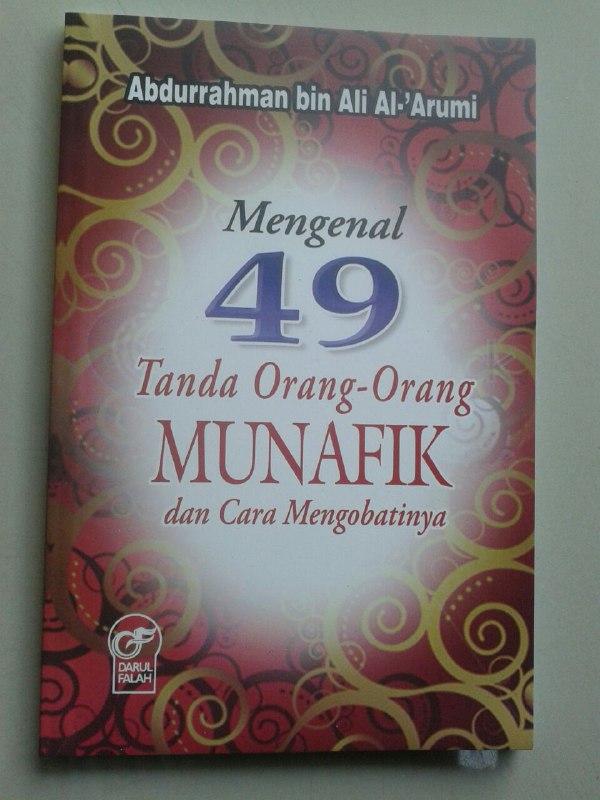 Buku Mengenal 49 Tanda Orang Orang Munafik Dan Cara Mengobatinya cover