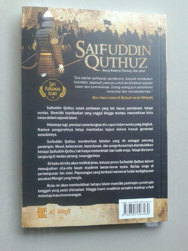 Buku Saifuddin Quthuz Sang Ksatria Perang 'Ain Jalut cover 2