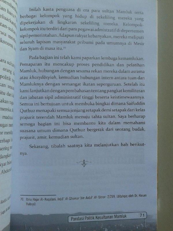 Buku Saifuddin Quthuz Sang Ksatria Perang 'Ain Jalut isi