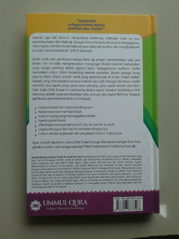 Buku Sifat Shalat Nabi Shallallahu Alaihi Wa Sallam cover 2