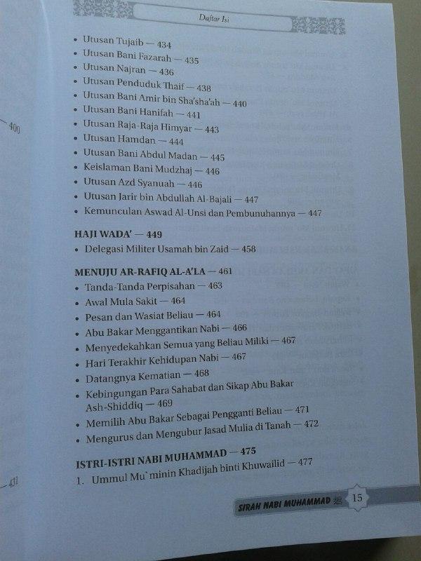 Buku Sirah Nabi Muhammad Manfaat Mempelajari Sirah Peta Zaman Nabi isi 2
