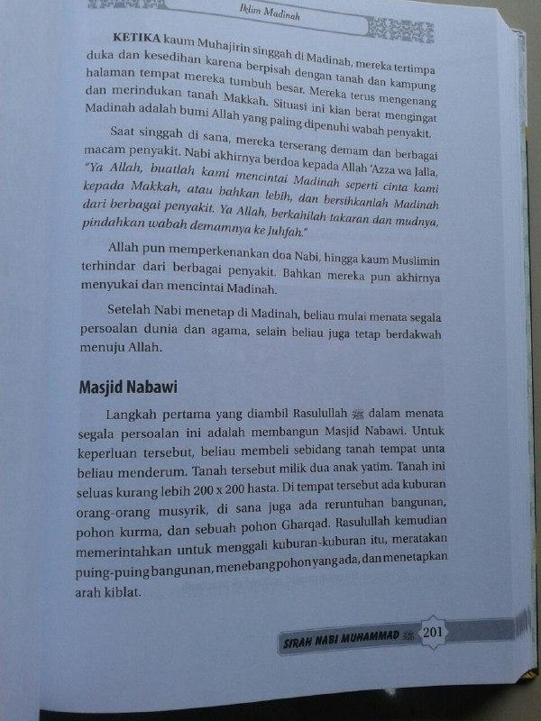 Buku Sirah Nabi Muhammad Manfaat Mempelajari Sirah Peta Zaman Nabi isi