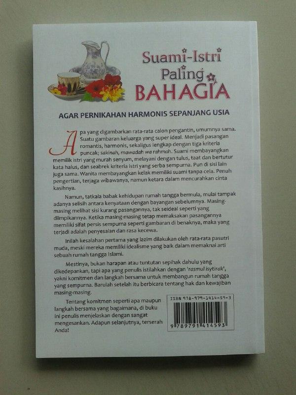 Buku Suami Istri Paling Bahagia Pernikahan Harmonis Sepanjang Usia cover 2