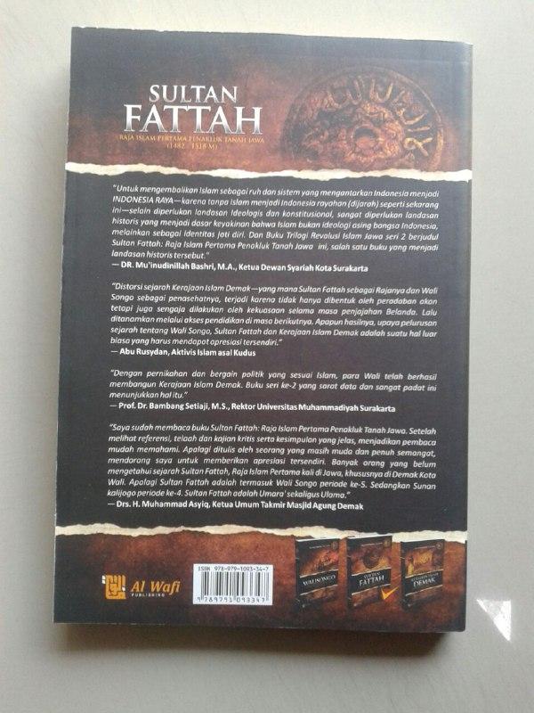 Buku Sultan Fattah Raja Islam Penakluk Tanah Jawa cover 2