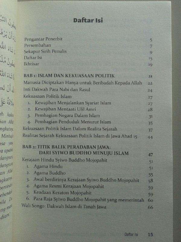 Buku Sultan Fattah Raja Islam Penakluk Tanah Jawa isi 2
