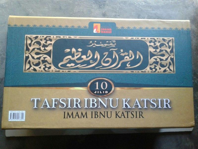 Buku Tafsir Ibnu Katsir Set 10 Jilid cover 4