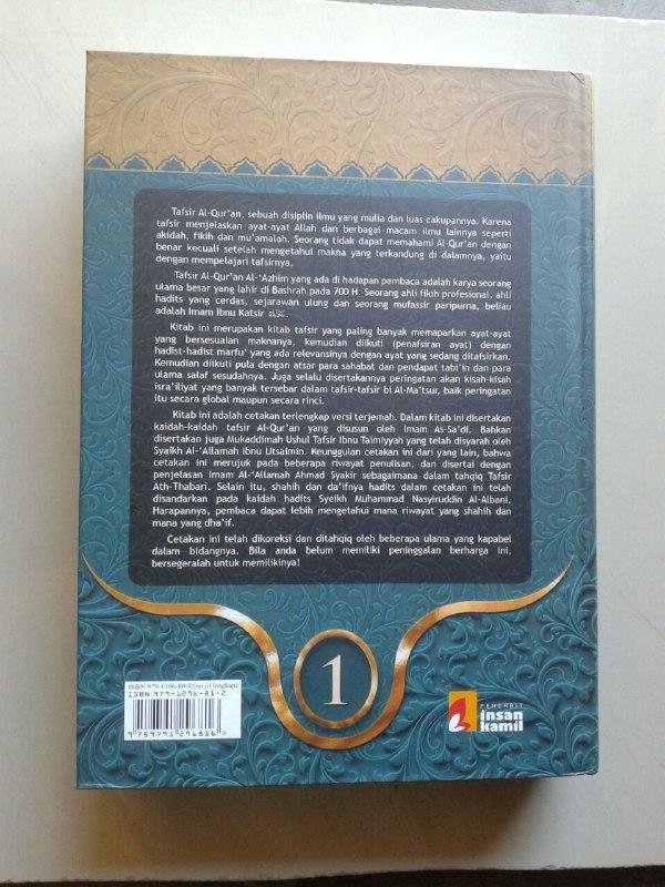 Buku Tafsir Ibnu Katsir Set 10 Jilid cover 3