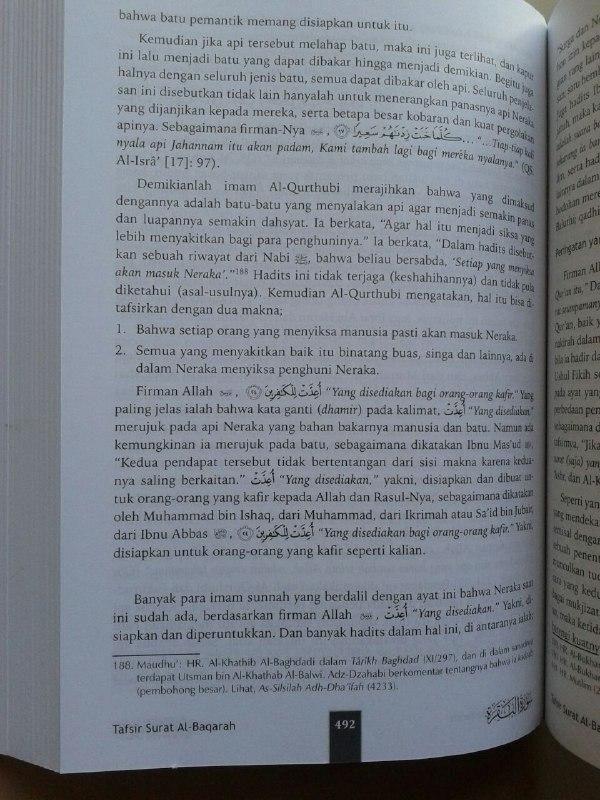 Buku Tafsir Ibnu Katsir Set 10 Jilid isi