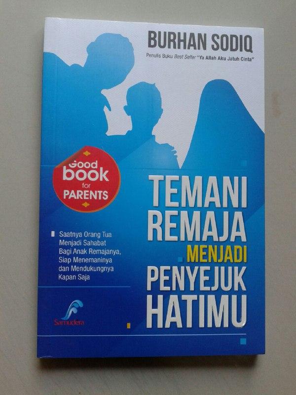 Buku Temani Remaja Menjadi Penyejuk Hatimu cover