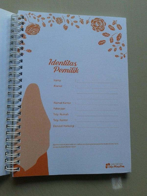 Buku Tulis Islami Spiral Cover Wanita Shalihah isi 2