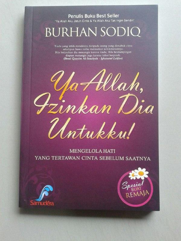 Buku Ya Allah Izinkan Dia Untukku Mengelola Hati Yang Tertawan Cinta cover 2
