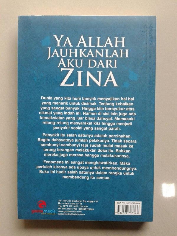 Buku Ya Allah Jauhkanlah Aku Dari Zina cover 2