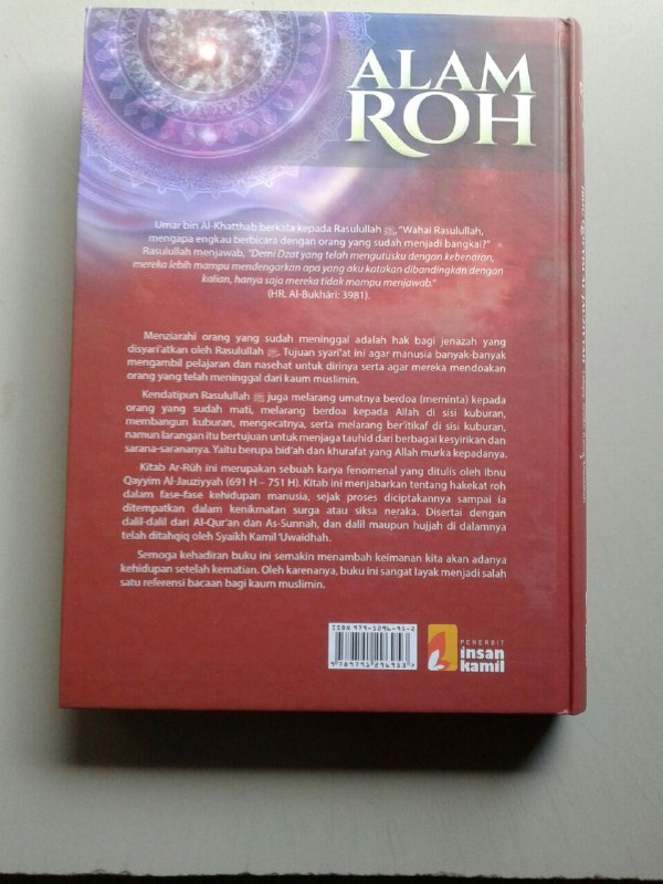 Buku Alam Roh cover