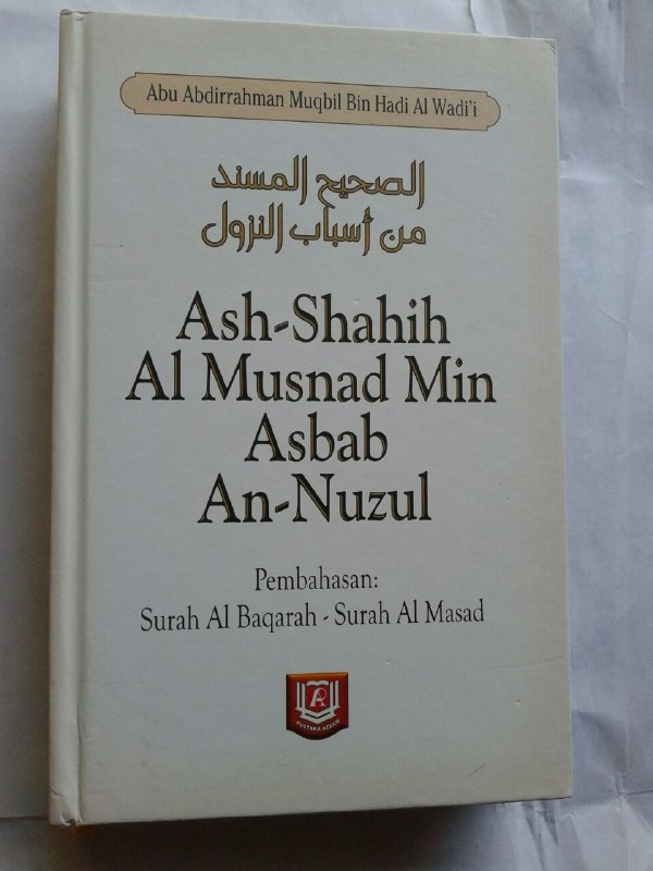 Buku Ash-Shahih Al Musnad Min Asbab An-Nuzul cover 2