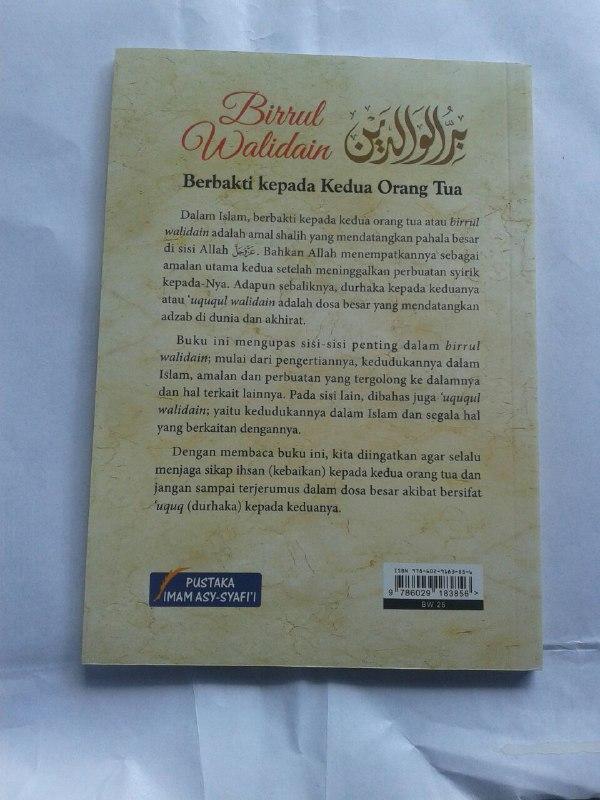 Buku Birrul Walidain Berbakti Kepada Kedua Orang Tua cover 2