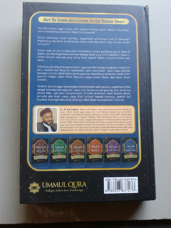 Buku Ensiklopedi Rukun Iman Set 6 Jilid cover 2