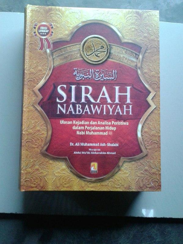 Buku Sirah Nabawiyah Ulasan Kejadian Dan Analisa Peristiwa Hidup Nabi cover