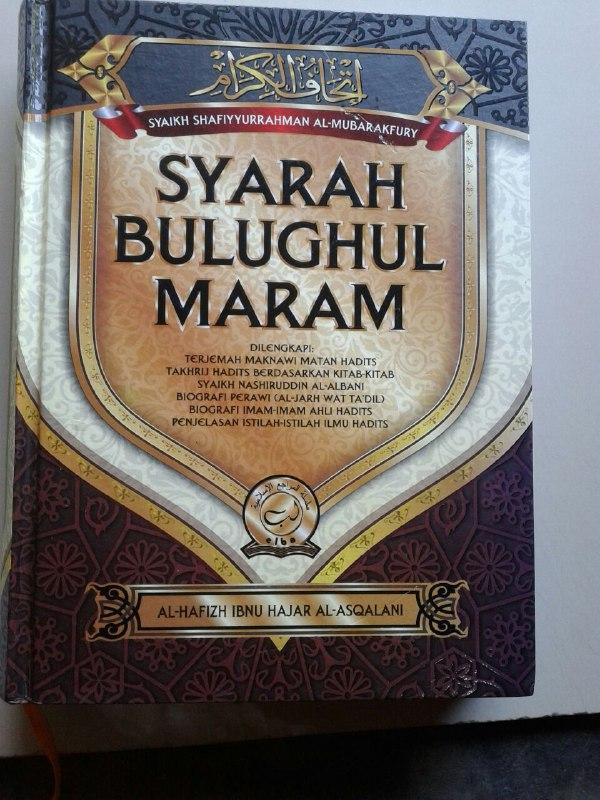 Buku Syarah Bulughul Maram Terjemah Maknawi Matan Hadits cover