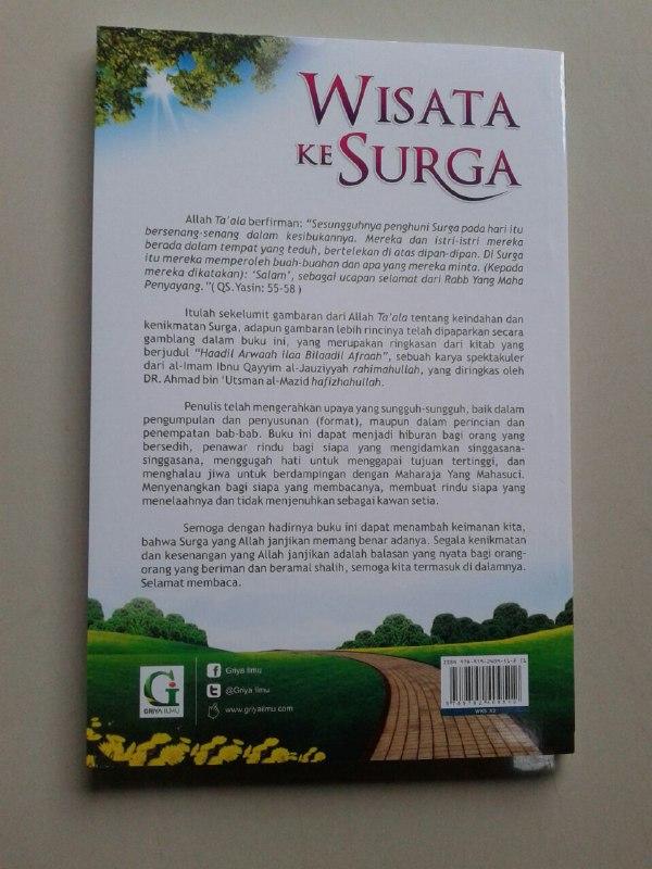 Buku Wisata Ke Surga Mengenal Surga Lebih Dekat cover 2