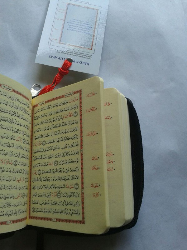 Al-Qur'an Hafalan Saku Resleting isi 3