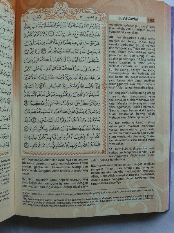 Al-Qur'an Mushaf Terjemah Yasmina Ukuran A6 isi 2