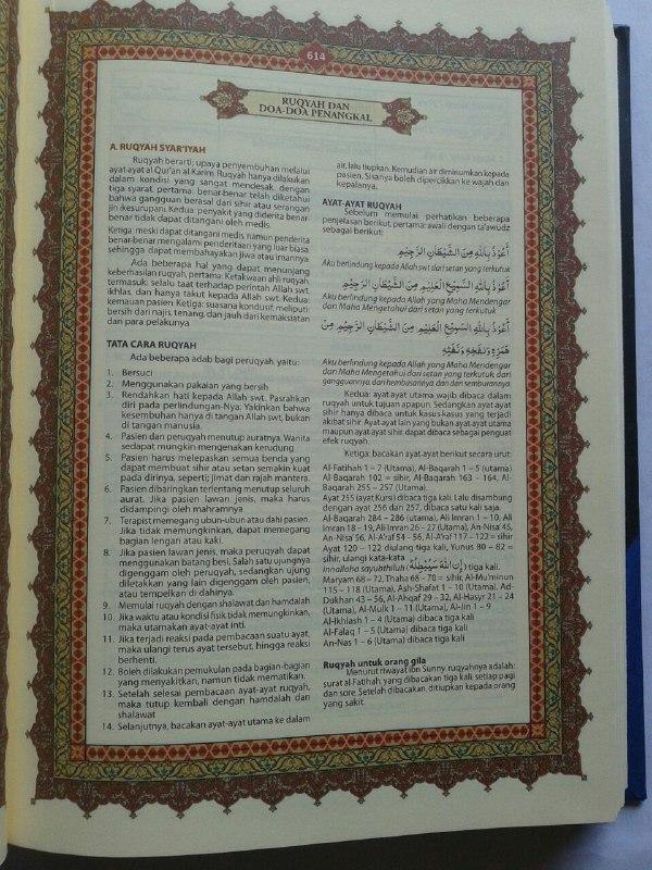Al-Qur'an Robbani Terjemah Perkata Tajwid Warna A5 isi 3