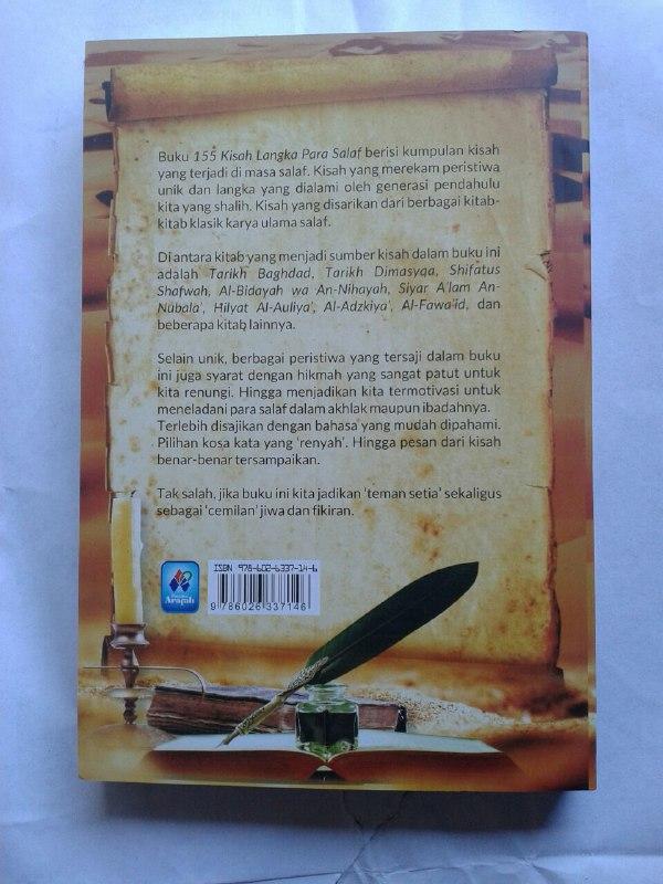 Buku 155 Kisah Langka Para Salaf Dari Kitab Turats cover 2