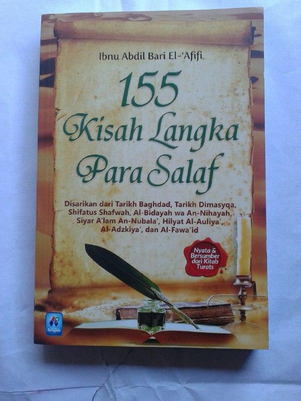 Buku 155 Kisah Langka Para Salaf Dari Kitab Turats cover