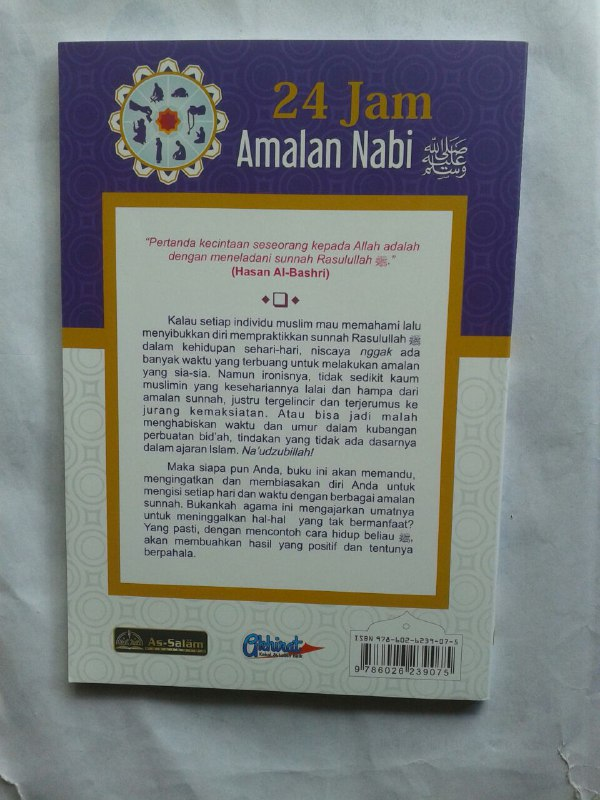 Buku 24 Jam Amalan Nabi cover 2
