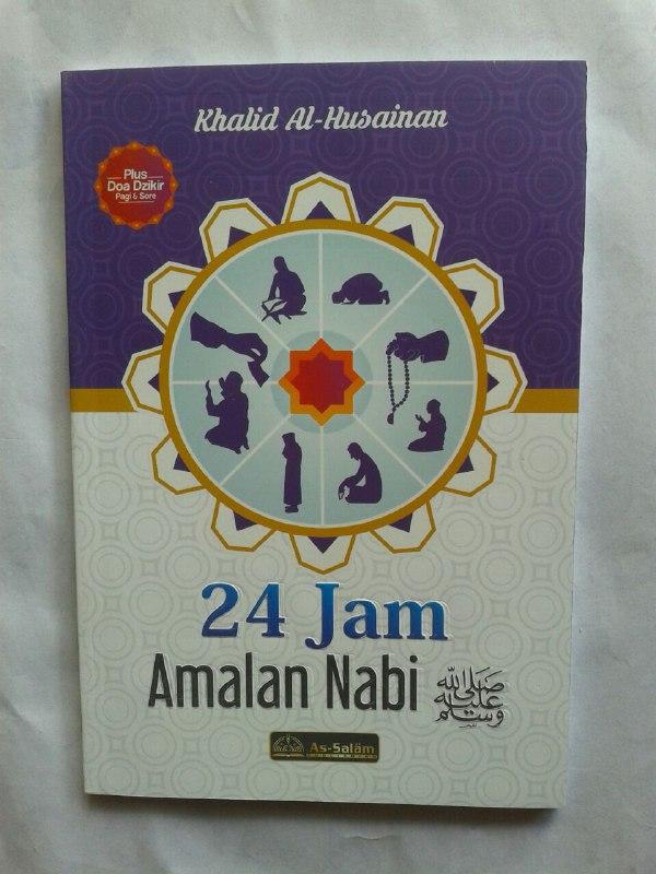 Buku 24 Jam Amalan Nabi cover